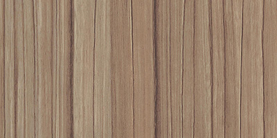 Walnut wood grain finish