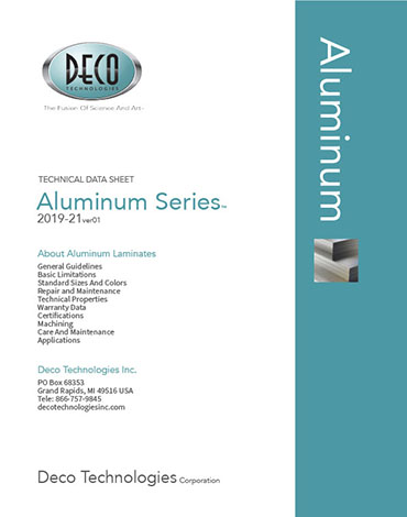 Technical Data - Aluminum Series